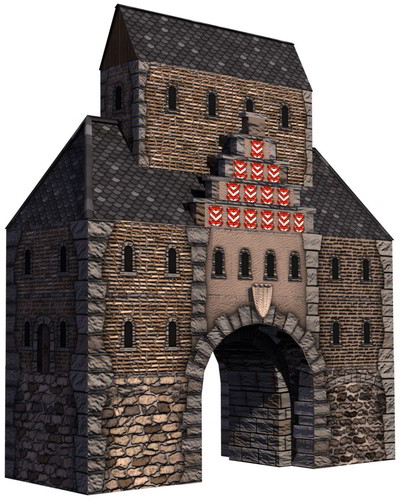 Patrician IV Town Gate